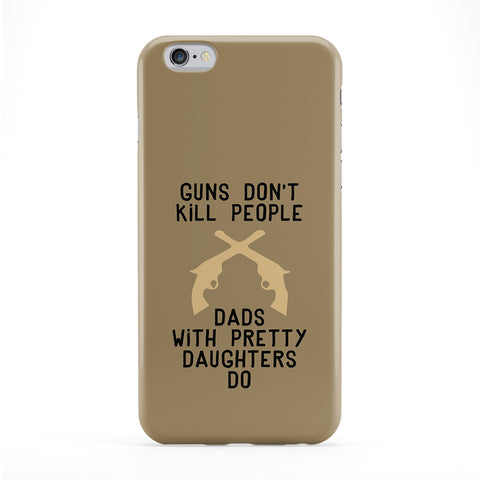 Guns Don't Kill People Phone Case by Chargrilled