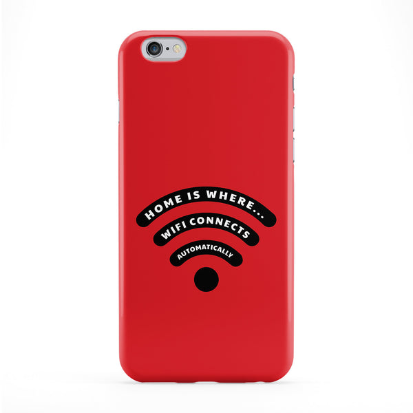 Home Is Where Full Wrap Protective Phone Case by Chargrilled