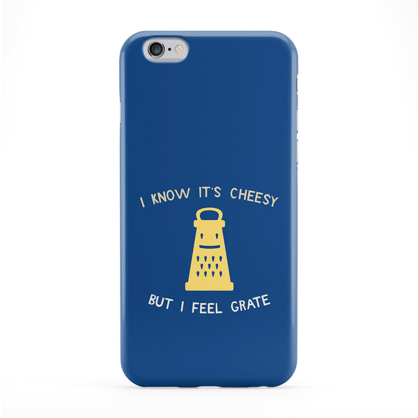 I Know It's Cheesy But I Feel Grate Full Wrap Protective Phone Case by Chargrilled