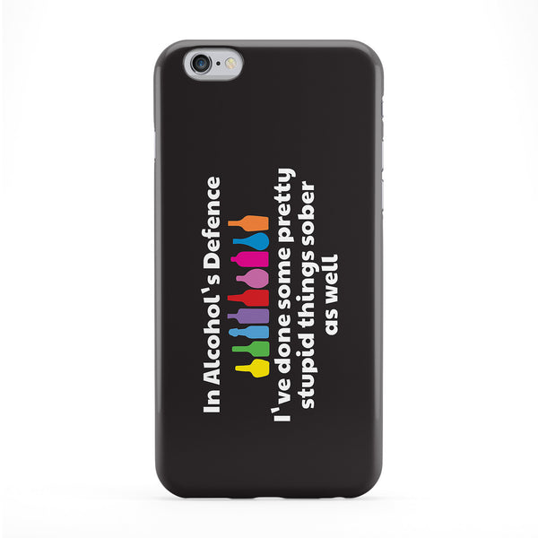 In Alcohol's Defence Phone Case by Chargrilled