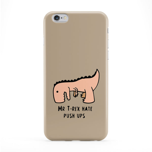 Mr T-Rex Hate Push Ups Phone Case by Chargrilled