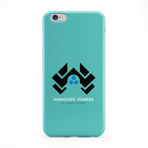 Nakatomi Towers Phone Case by Chargrilled