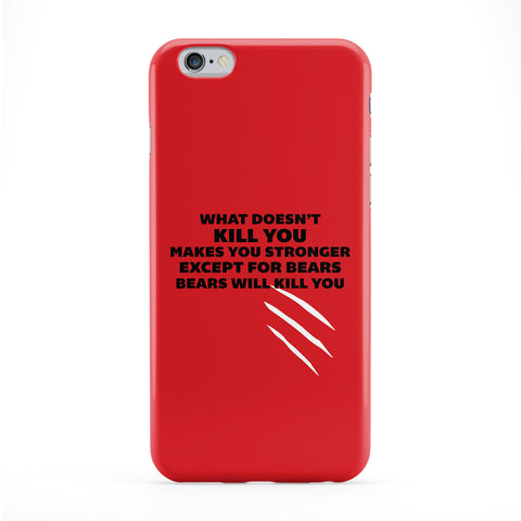 What Doesn't Kill You Makes You Stronger Phone Case by Chargrilled