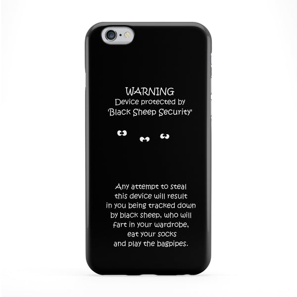 Theft Warning Phone Case by Clive Gardner