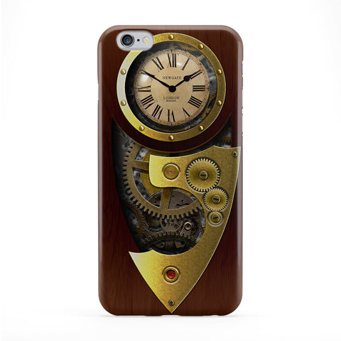 Retro Gadgets Steampunk Full Wrap Protective Phone Case by DevilleArt