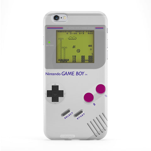 Retro Gadgets Gameboy Full Wrap Protective Phone Case by DevilleArt