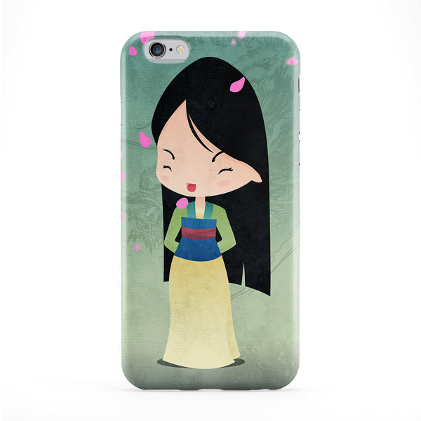 Princesses Mulan Phone Case by DevilleArt