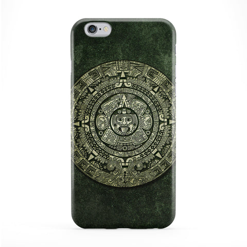 Mayan Calendar Full Wrap Protective Phone Case by DevilleArt