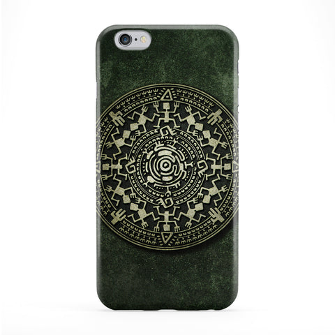 Mayan Calendar Small Full Wrap Protective Phone Case by DevilleArt