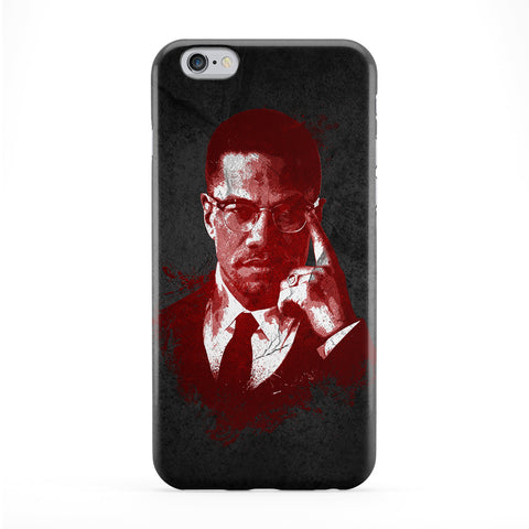 Malcolm X Phone Case by DevilleArt