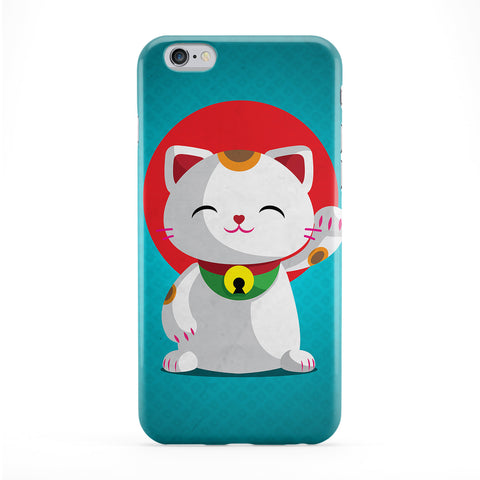 Kawaii Maneki Neko Phone Case by DevilleArt