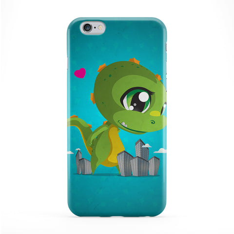Kawaii Cutezilla Phone Case by DevilleArt