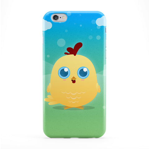 Cute Yellow Chicken Phone Case by DevilleArt