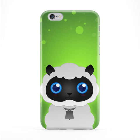 Cute White Sheep Phone Case by DevilleArt