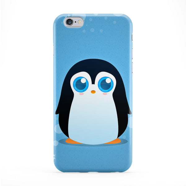 Cute Penguin Full Wrap Protective Phone Case by DevilleArt
