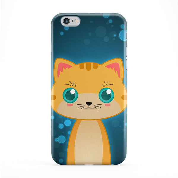 Cute Orange Tabby Cat Phone Case by DevilleArt