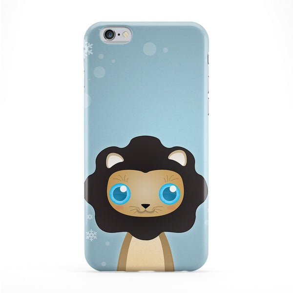 Cute Lion Phone Case by DevilleArt