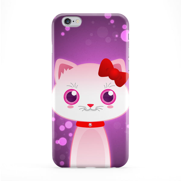Cute Kitty Cat Phone Case by DevilleArt