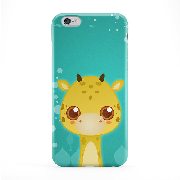 Cute Giraffe Full Wrap Protective Phone Case by DevilleArt