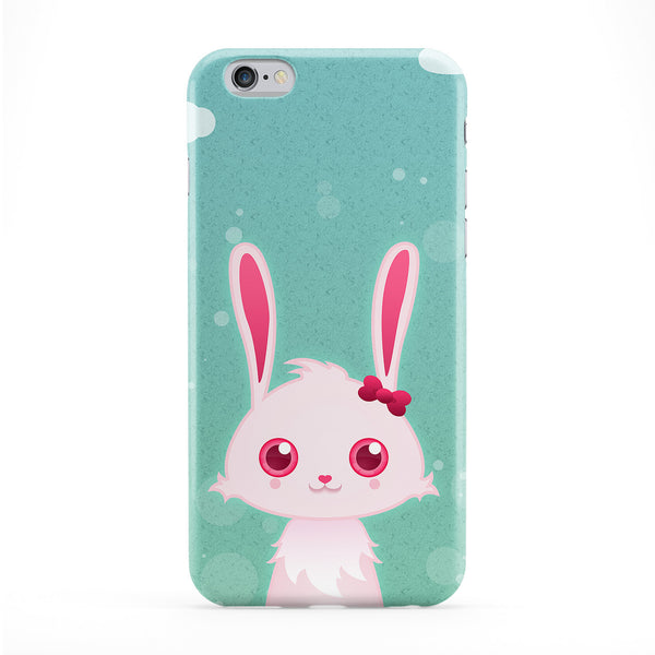 Cute Bunny Rabbit Phone Case by DevilleArt