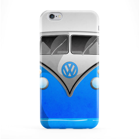 Campervan Full Wrap Protective Phone Case by DevilleArt
