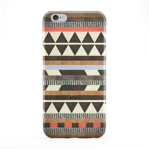 Aztec Pattern 03 Full Wrap Protective Phone Case by DevilleArt