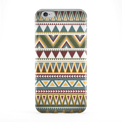 Aztec Pattern 02 Full Wrap Protective Phone Case by DevilleArt