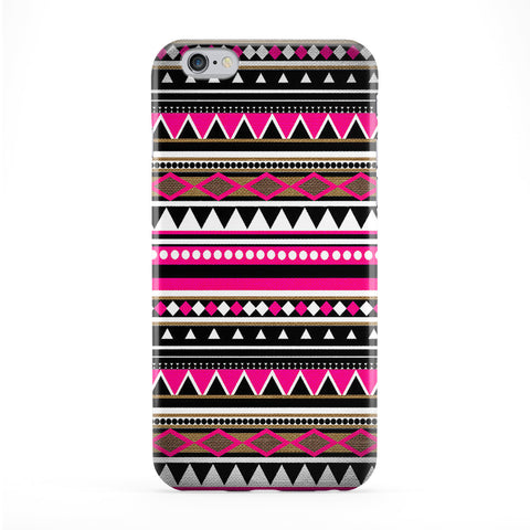 Aztec Pattern 01 Full Wrap Protective Phone Case by DevilleArt
