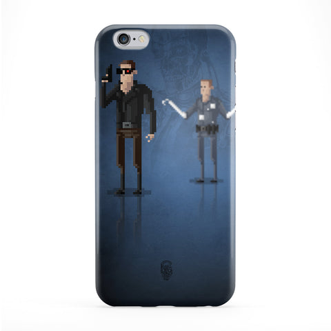 8bit Movies Terminator Full Wrap Protective Phone Case by DevilleArt