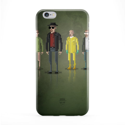 8bit Movies Heisenberg Full Wrap Protective Phone Case by DevilleArt