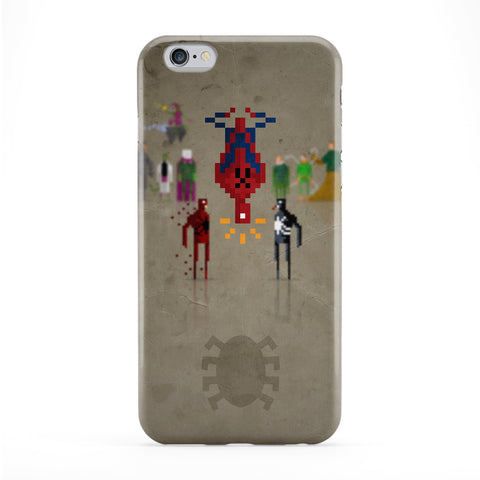 8Bit Marvel Spiderman Full Wrap Protective Phone Case by DevilleArt
