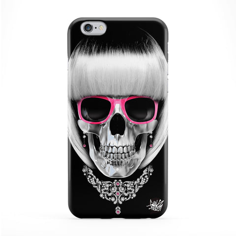 Lady Skull 01 Phone Case by Gangtoyz