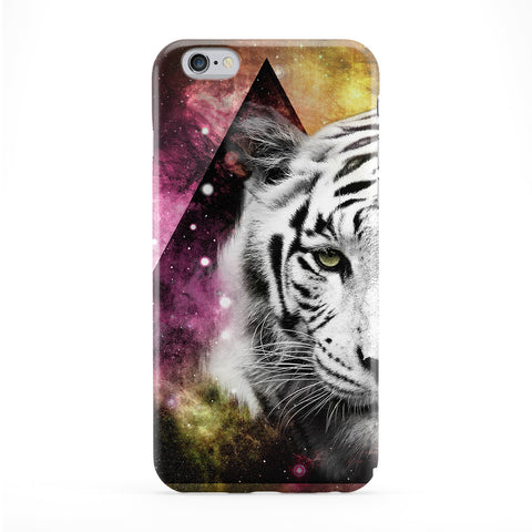 Yellow Galaxy Tiger Phone Case by Gangtoyz