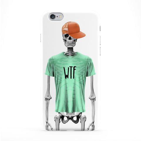 Wtf Skeleton Phone Case by Gangtoyz