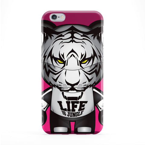 White Tiger Phone Case by Gangtoyz