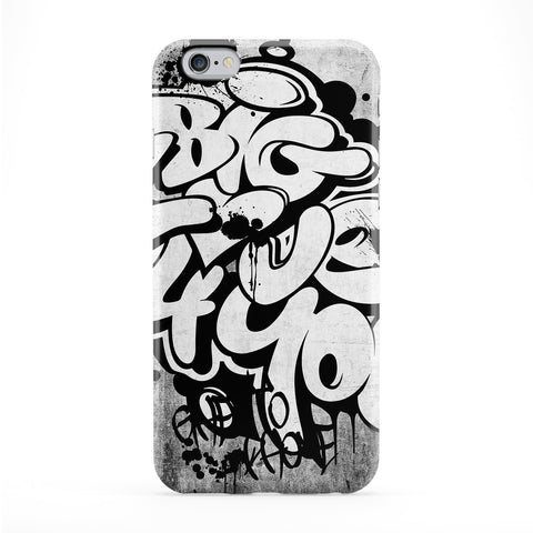 White Graff Phone Case by Gangtoyz
