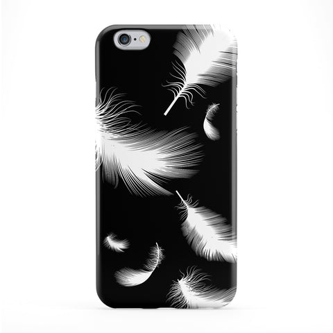 White Feathers Phone Case by Gangtoyz