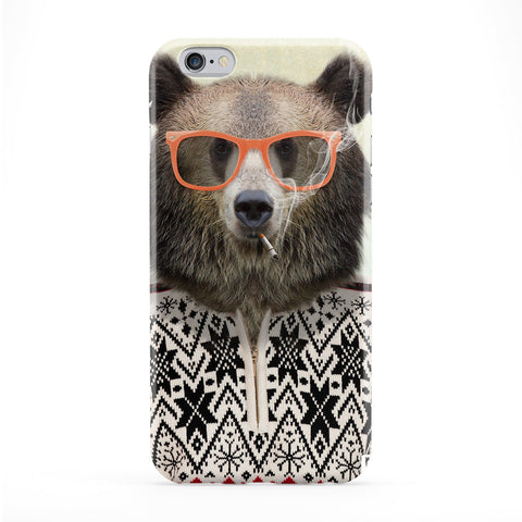 Sasha Brown Bear Phone Case by Gangtoyz