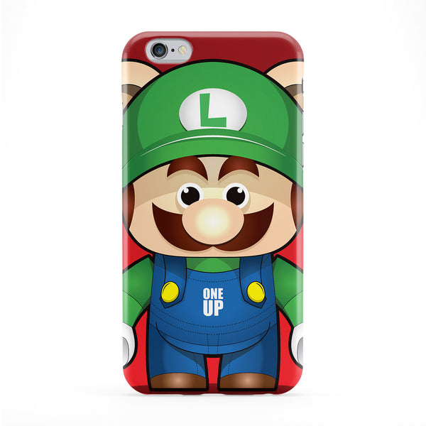 Luigi Full Wrap Protective Phone Case by Gangtoyz