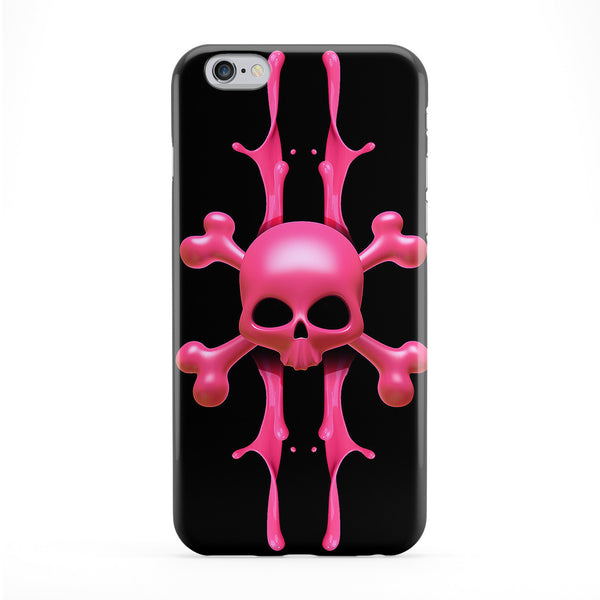 Liquid Skull Full Wrap Protective Phone Case by Gangtoyz
