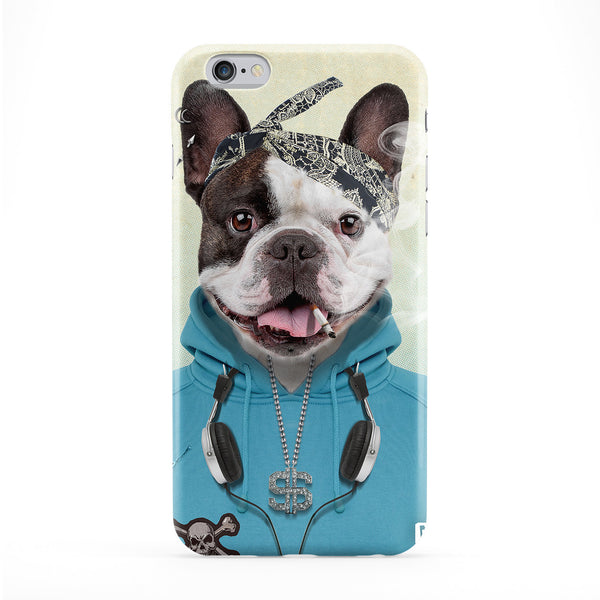Kevin French Bulldog Full Wrap Protective Phone Case by Gangtoyz
