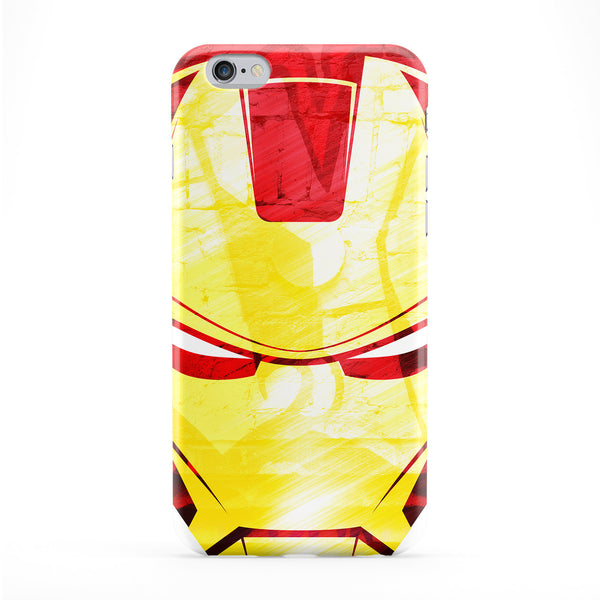 Iron Face Full Wrap Protective Phone Case by Gangtoyz