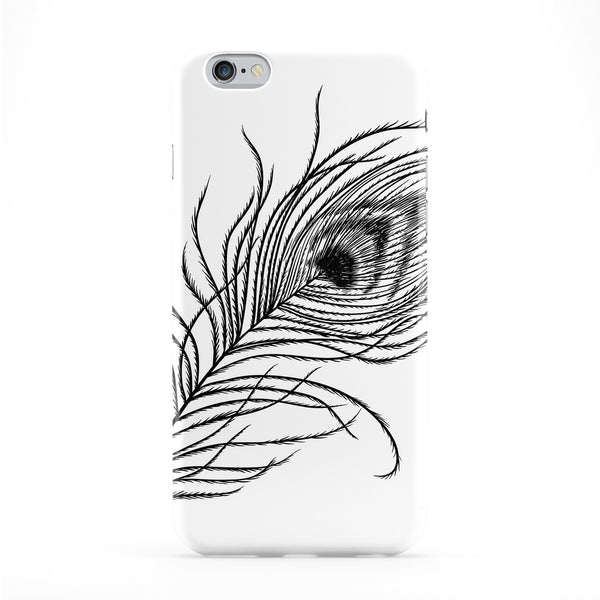 Indian Feather Full Wrap Protective Phone Case by Gangtoyz