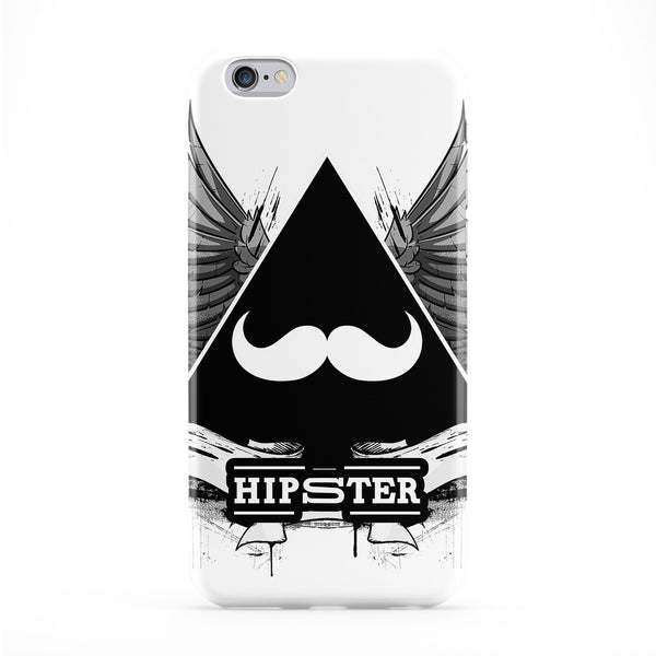 Hipster Black Full Wrap Protective Phone Case by Gangtoyz