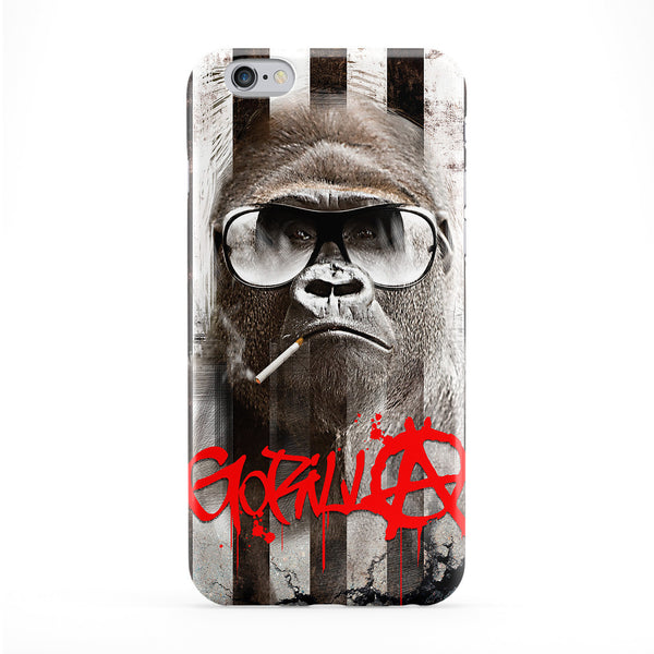 Gorilla Anarchy Full Wrap Protective Phone Case by Gangtoyz