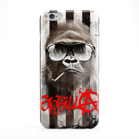 Gorilla Anarchy Phone Case by Gangtoyz