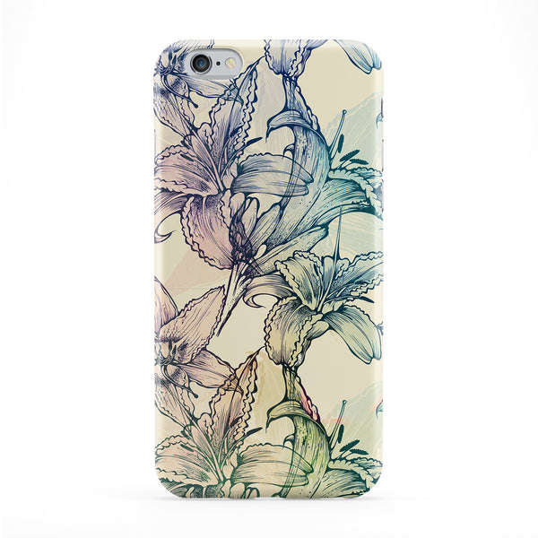 Flowers 12 Full Wrap Protective Phone Case by Gangtoyz