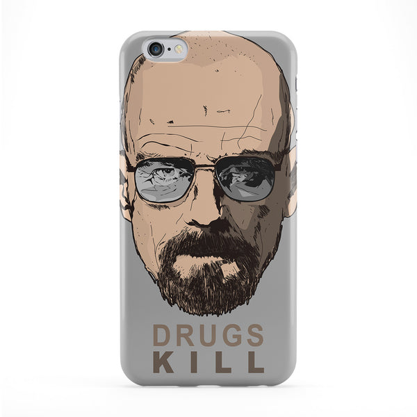 Drugs Kill 3 Full Wrap Protective Phone Case by Gangtoyz