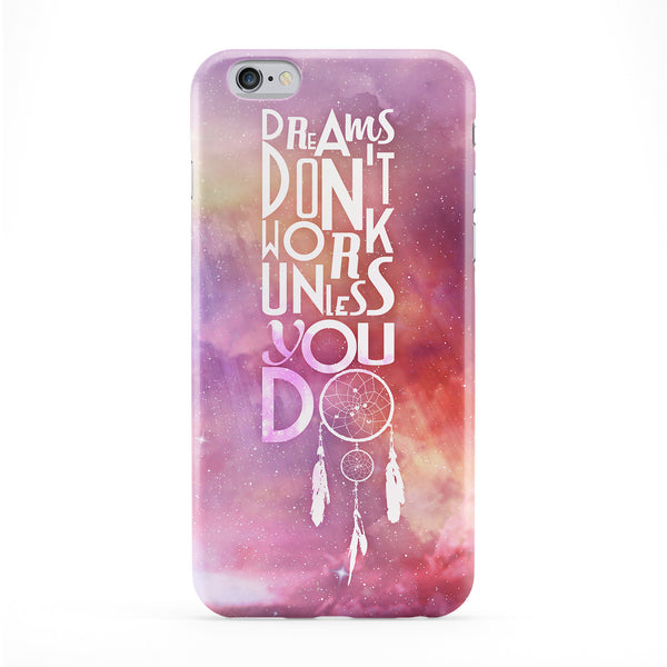 Dreams Unless Full Wrap Protective Phone Case by Gangtoyz