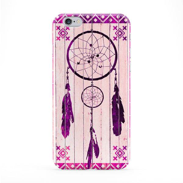 Dreamcatcher Pink Full Wrap Protective Phone Case by Gangtoyz